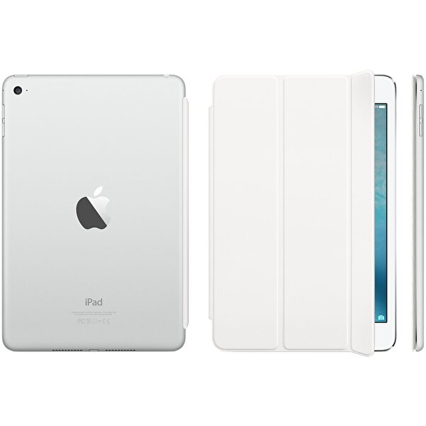 Apple MKLW2ZM/A iPad Mini 4 Smart Cover - Beyaz