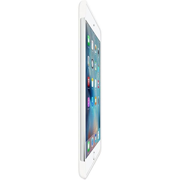 Apple MKLL2ZM/A iPad Mini 4 Silikon Kılıf - Beyaz