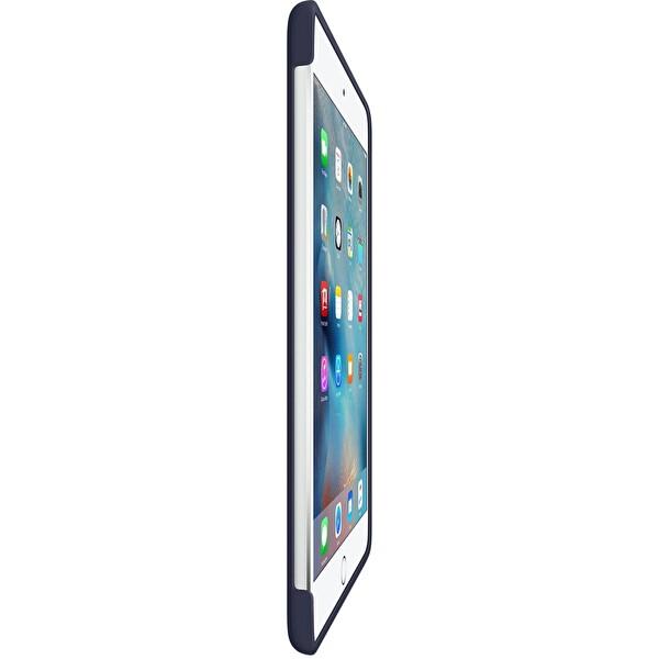 Apple MKLM2ZM/A iPad Mini 4 Gece Mavisi Silikon Kılıf