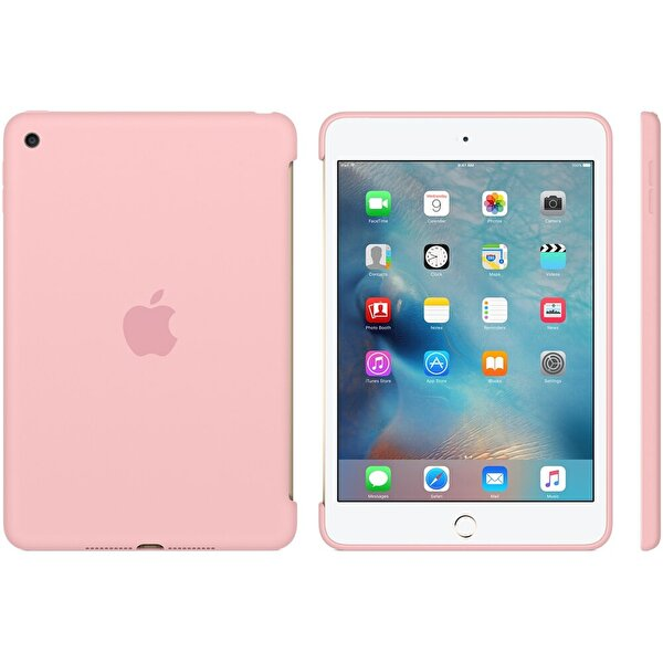 Apple MLD52ZM/A iPad Mini 4 Silikon Kılıf - Pembe