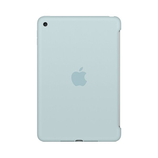 Apple MLD72ZM/A iPad Mini 4 Silikon Kılıf - Turkuaz