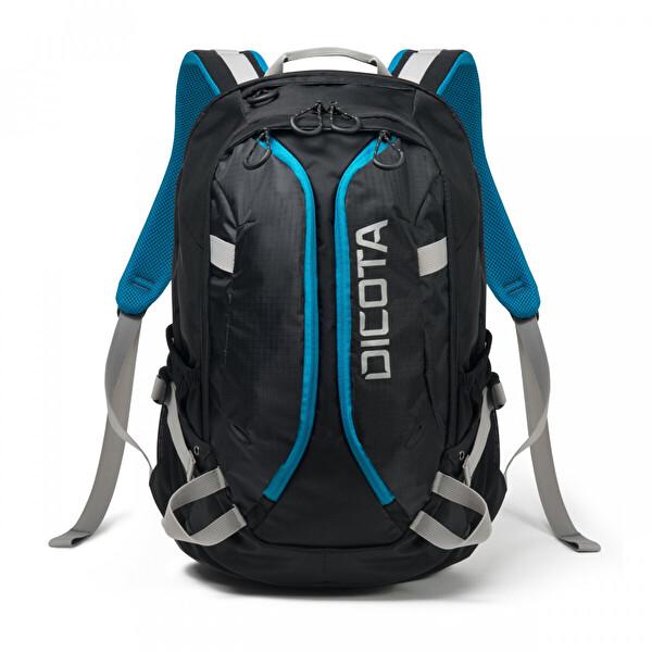 "Dicota Backpack Active 15.6"" Siyah-Mavi Notebook Sırt Çantası"