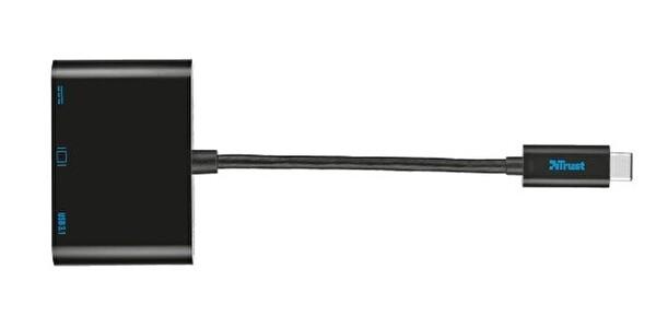 Trust 21260 USB-C Multiport Adaptör