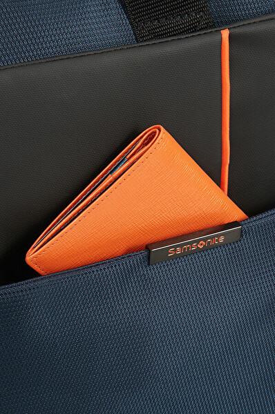 """Samsonıte 16N-01-001 14.1"""" Qibyte Notebook Çantası Mavi"""