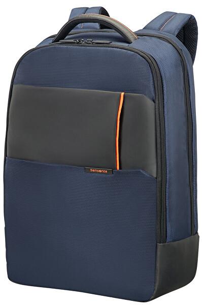 """Samsonıte 16N-01-006 17.3"""" Qibyte Notebook Sırt Çantası Mavi"""