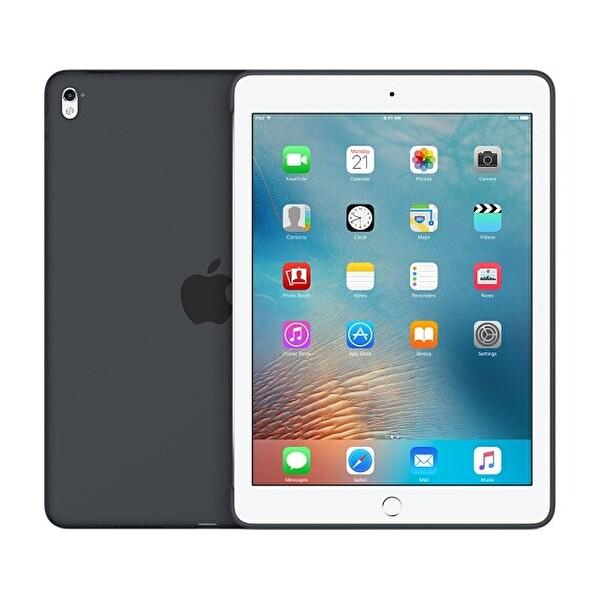 """Apple 9.7 """" iPad Pro Silikon Kılıf - Kömür Grisi - (MM1Y2ZM/A)"""