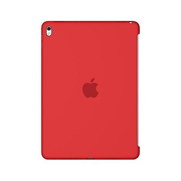 """Apple 9.7 """" iPad Pro Silikon Kılıf - Kırmızı - (MM222ZM/A)"""