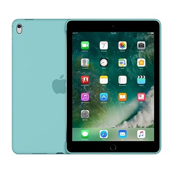 "Apple 9.7"" iPad MN2G2ZM/A Pro Silikon Kılıf - Deniz Mavisi"