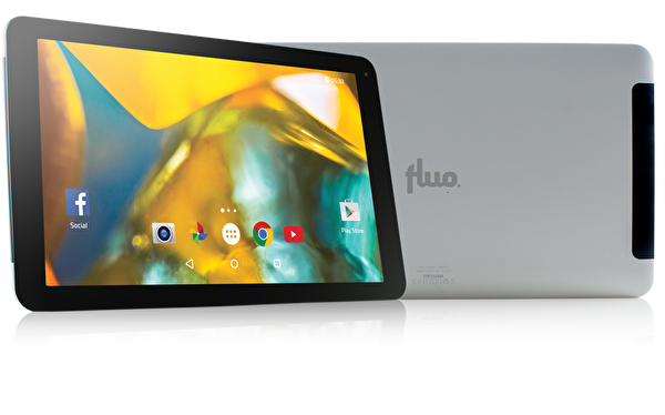 "FLUO CİNEMA 10.1"" WİFİ GÜMÜŞ TABLET ( OUTLET )"