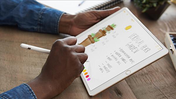 """Apple iPad Pro PROMQDD2TU/A 64 GB 12.9"""" Gold Wifi Tablet"""