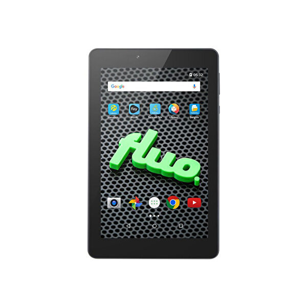 "FLUO JAZZ 7"" BLACK TABLET ( OUTLET )"