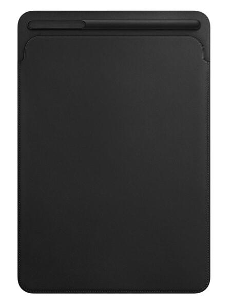 """Apple MPU62ZM/A iPad 7. Ve 8. Nesil, iPad Air 3. Nesil, 10.5"""" iPad Pro Deri Zarf Kılıfı Siyah"""