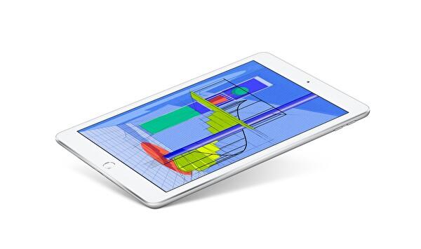 "Apple iPad MR6P2TU/A 9.7"" Silver 32 GB Wifi Tablet"