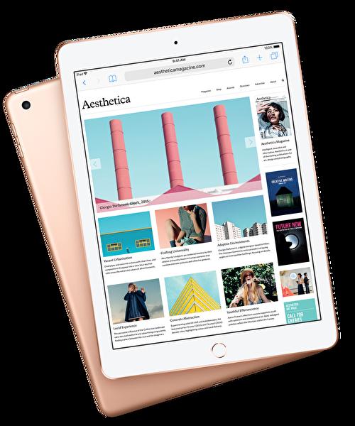 """Apple iPad 6.Nesil MRJN2TU/A 32 GB 9.7"""" Gold Wifi Tablet"""