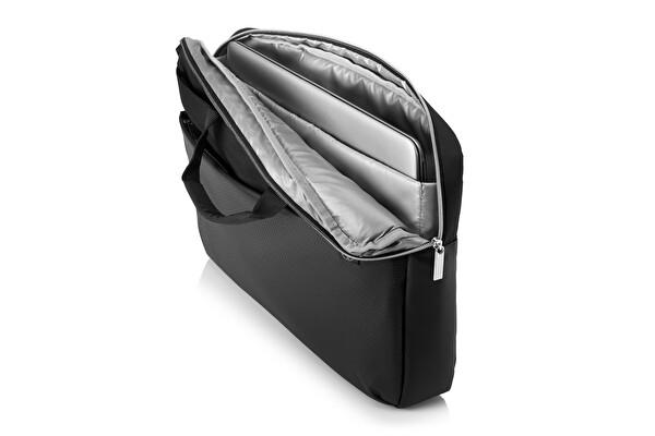 HP Pavilion Accent Evrak Çantası 15 Siyah Gümüş