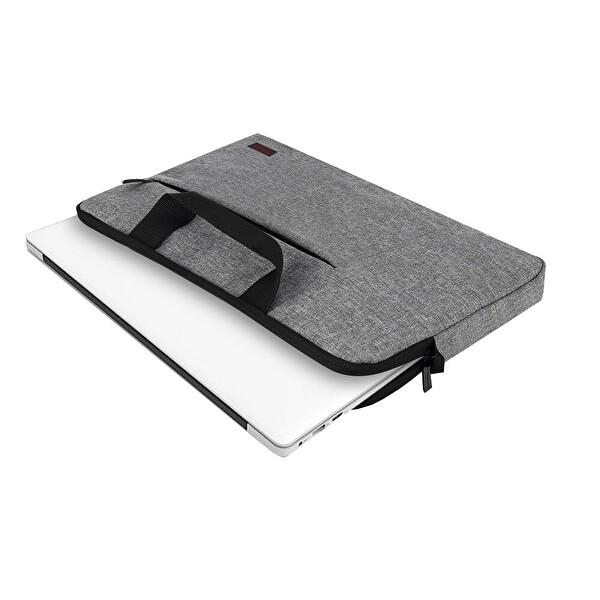 """Mack MCC-202 15.6"""" Belize Gri Notebook Çantası"""