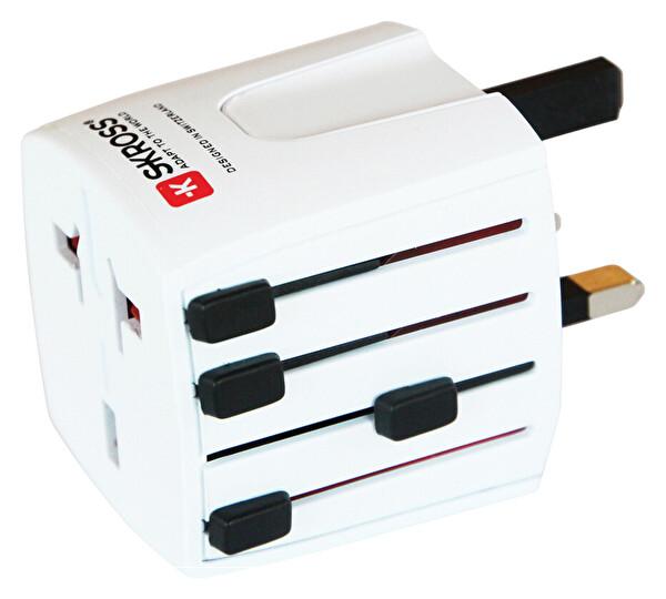 Skross Seyahat Adaptörü 1.302.180 Muv MicroBeyaz