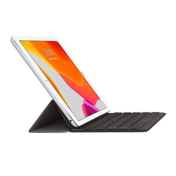 "Apple Smart Keyboard MX3L2TQ/A iPad 7. Ve 8. Nesil, iPad Air 3.Nesil Ve 10.5"" iPad Pro Uyumlu Türkçe Q Klavye"