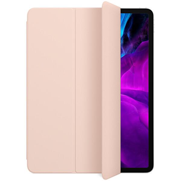 """Apple SmartFolio MXTA2ZM/A 12.9"""" iPadPro 3. Ve 4.NesilUyumlu Tablet Kılıfı KumPembesi"""