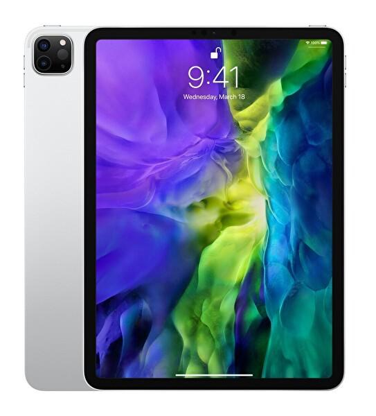 "Apple İPad Pro MXE72TU/A Wifi Cell 512GB 11"" Silver Tablet"