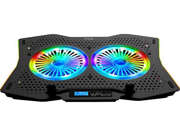 Inca INC-607 GMS Arrax II 2X RGB Fan 7 Kademe Gaming Notebook Soğutucu