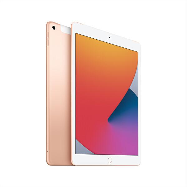 Apple iPad 8. Nesil MYMK2TU/A 32GB 10.2'' Gold Wifi+Cellular Tablet