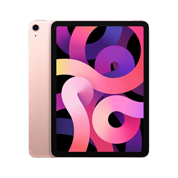 """Apple iPad Air 4.Nesil 10.9"""" 64GB Wifi Cellular Roze Altın Tablet MYGY2TU/A"""