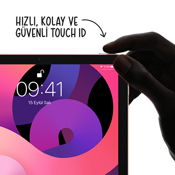 """Apple iPad Air Cellular 256GB 10.9"""" Space Grey Tablet - MYH22TU/A"""