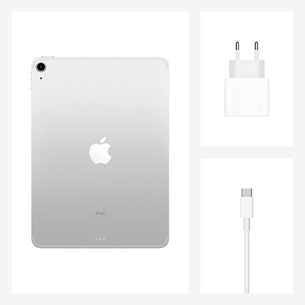 """Apple iPad Air 4.Nesil 10.9"""" 256GB Wifi Cellular Gümüş Tablet MYH42TU/A"""