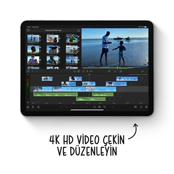"Apple iPad Air 4.Nesil 10.9"" 64GB Wifi Gümüş Tablet MYFN2TU/A"