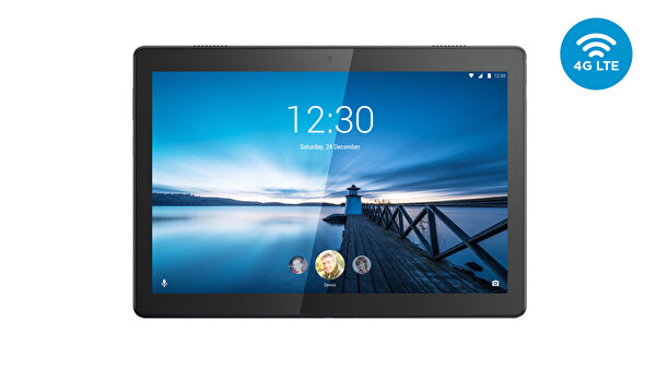 "Lenovo Tab M10 Qualcomm Snapdragon 429 2Ghz 2GB 32GB 10.1"" HD And.Oreo 4G LTE ZA4H0040TR Tablet Slate Siyah"