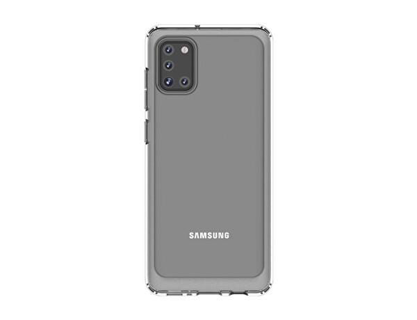 Samsung Galaxy A31 GP-FPA315KDATW KDLab Telefon Kılıfı Şeffaf