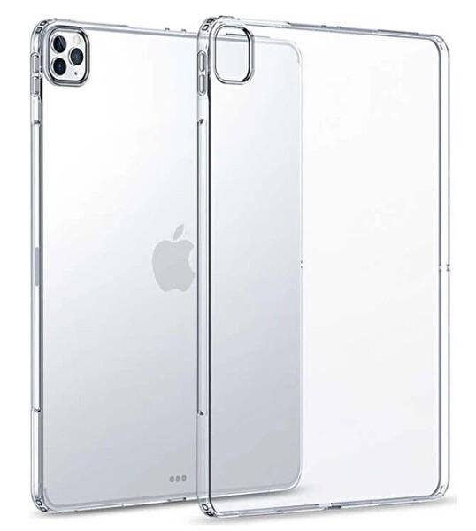 """Preo My Case 12.9"""" iPad Pro 1. Ve 2. Nesil Uyumlu Tablet Kılıfı Şeffaf"""