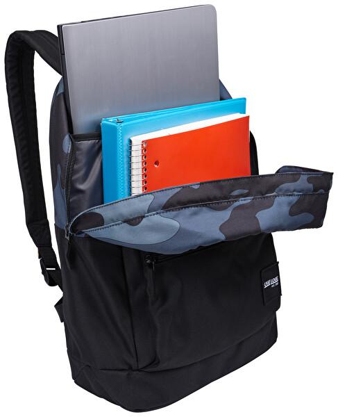 Case Logic Commence 15.6 inç Camo Black Notebook Sırt Çantası