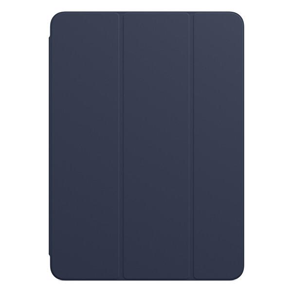 """Apple Smart Folio MGYX3ZM/A 11"""" iPad Pro 1. Ve 2. Nesil Uyumlu Tablet Kılıfı Koyu Lacivert"""