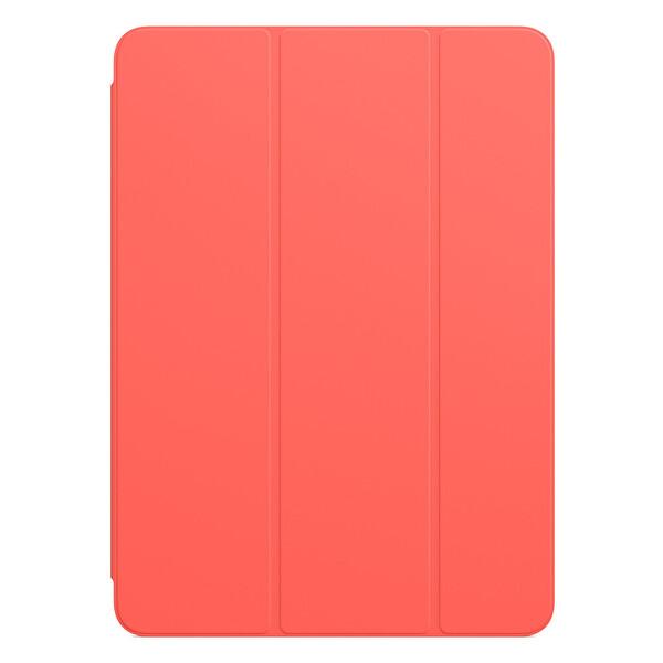 """Apple Smart Folio MH003ZM/A 11"""" iPad Pro 1. Ve 2. Nesil Uyumlu Tablet Kılıfı Pembe Greyfurt"""