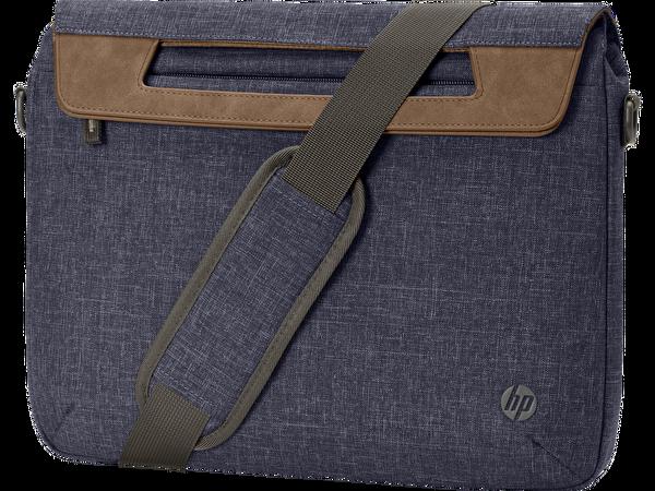 HP Renew 14 inç İnce Üstten Beslemeli Notebook Çantası Lacivert