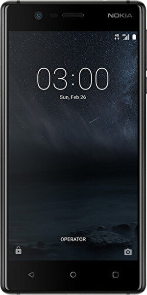 NOKIA 3 BLACK AKILLI TELEFON ( OUTLET )