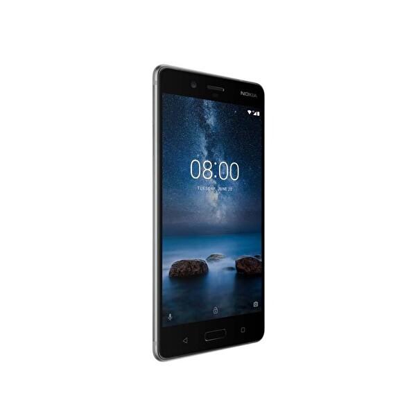 Nokia 8 64GB Çelik Gri Akıllı Telefon