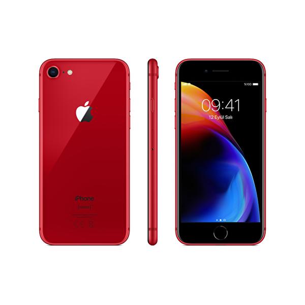 Apple iPhone 8 64 GB Akıllı Telefon (Kırmızı)