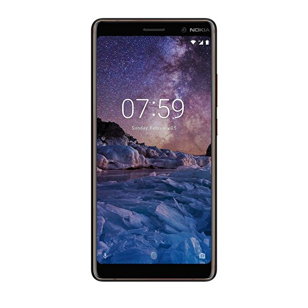 NOKIA 7 PLUS AKILLI TELEFON BLACK/COPPER ( OUTLET )