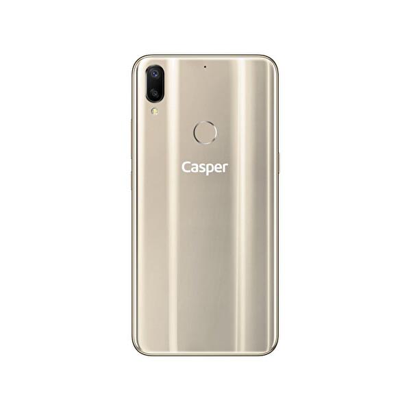 Casper VIA A3 64 GB Metalik Platin Akıllı Telefon
