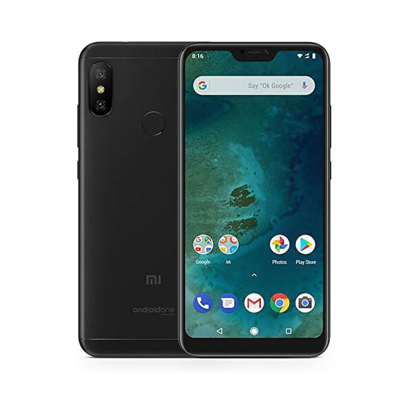 XIAOMI MI A2 LITE 4-64GB SİYAH AKILLI TELEFON ( OUTLET )