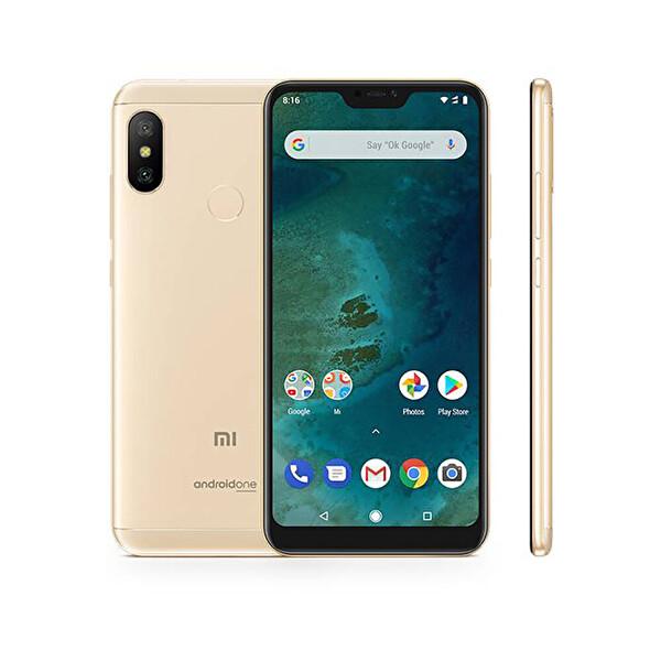 XIAOMI MI A2 LITE 4-64GB GOLD AKILLI TELEFON ( OUTLET )