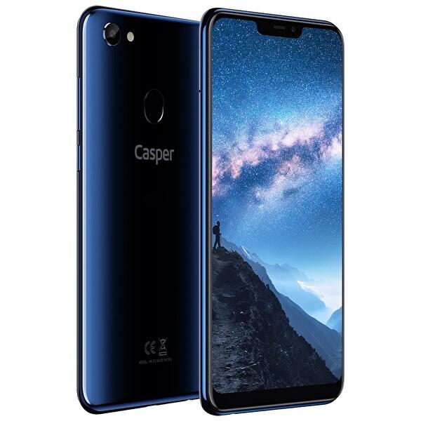 CASPER VIA G3 GECE MAVİSİ 32GB AKILLI TELEFON ( OUTLET )