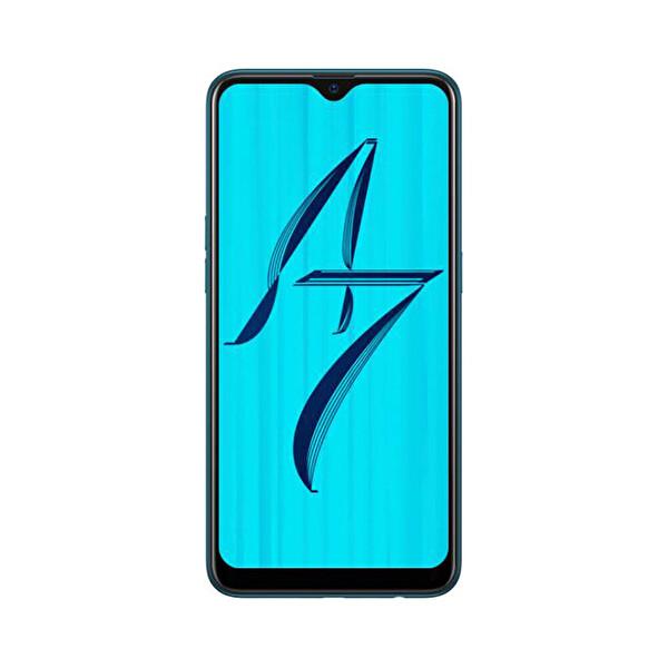 OPPO AX7 64GB SIRLI MAVİ AKILLI TELEFON ( OUTLET )