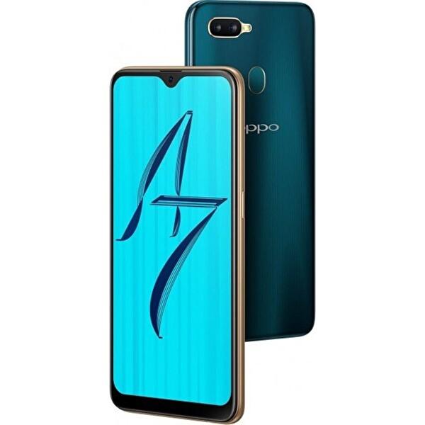 OPPO AX7 64GB SIRLI MAVİ AKILLI TELEFON DEMO ( OUTLET )