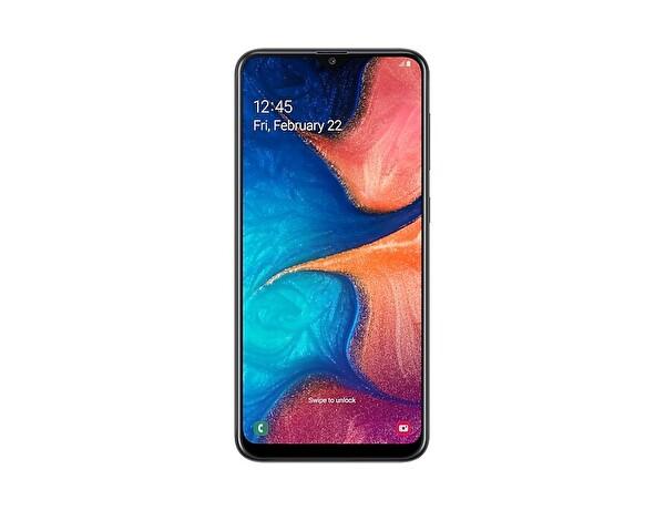 Samsung Galaxy A20 A205F Siyah Akıllı Telefon