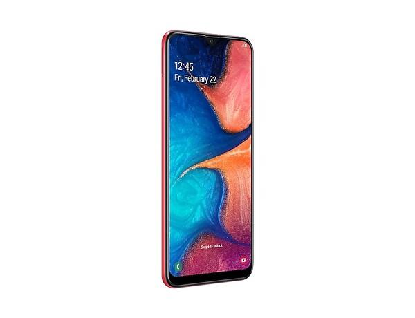 Samsung Galaxy A20 A205F Kırmızı Akıllı Telefon