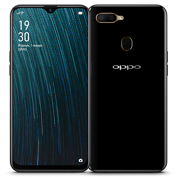 OPPO A5s 32GB HAFIZA 3GB RAM SİYAH AKILLI TELEFON ( OUTLET )